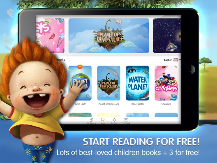 KidBook Interactive Books for Kids Bedtime Stories screenshot-0