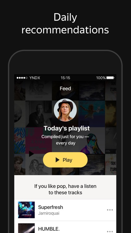 Yandex.Music: Download Player for iPhone and iPad screenshot-4