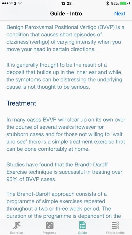 BPPV Self Help screenshot-4