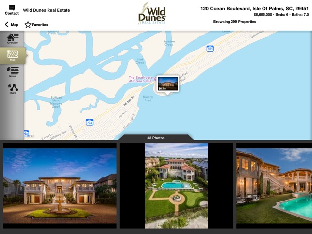 Wild Dunes Real Estate for iPad on the App Store