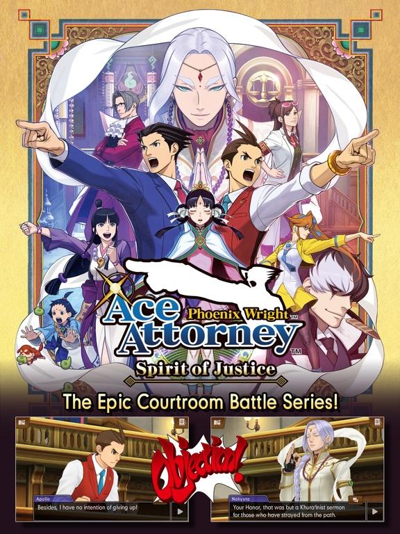 Ace Attorney Spirit of Justice screenshot 6