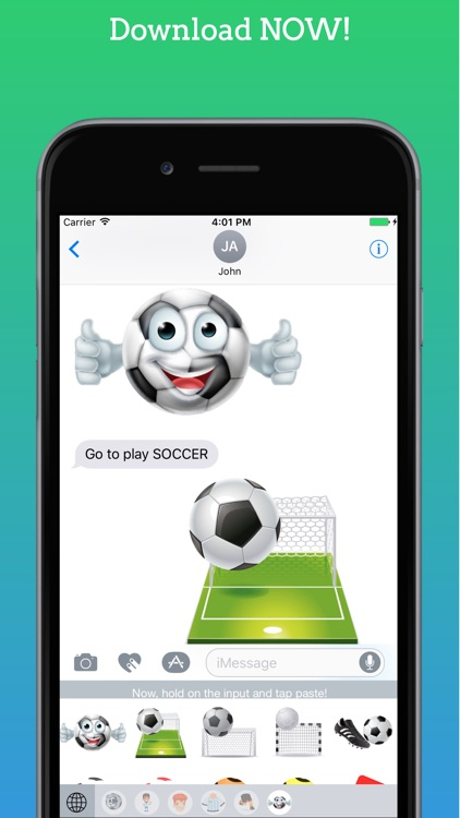 FootMoji PRO - Soccer Emoji & Stickers screenshot-4