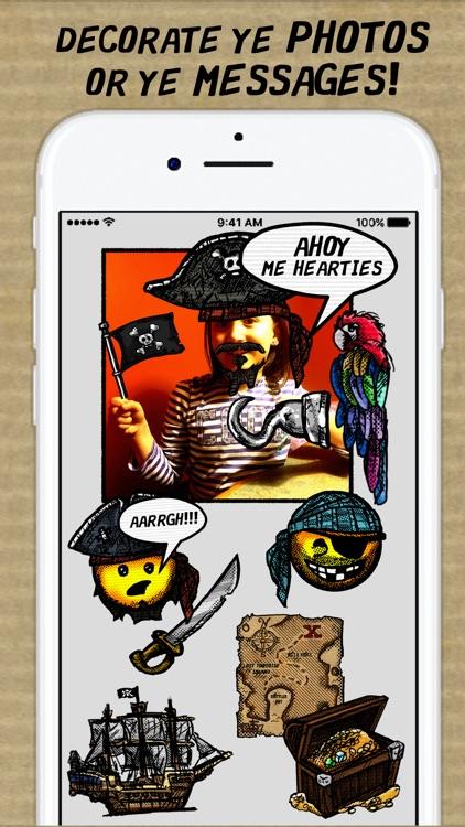 Ye Old Time Pirate Mojis