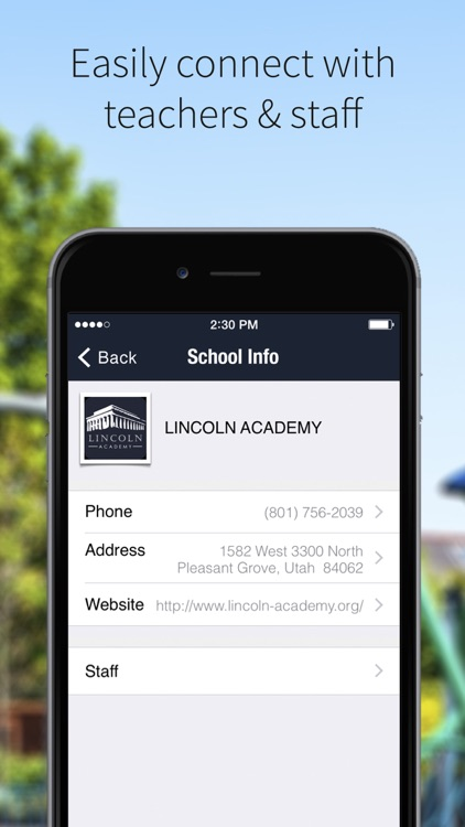 Lincoln Academy PG screenshot-1