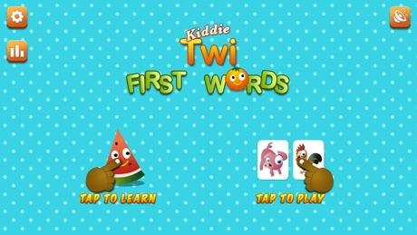 Kiddie Twi First Words