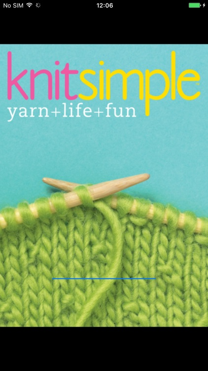 Knit Simple Magazine screenshot-0