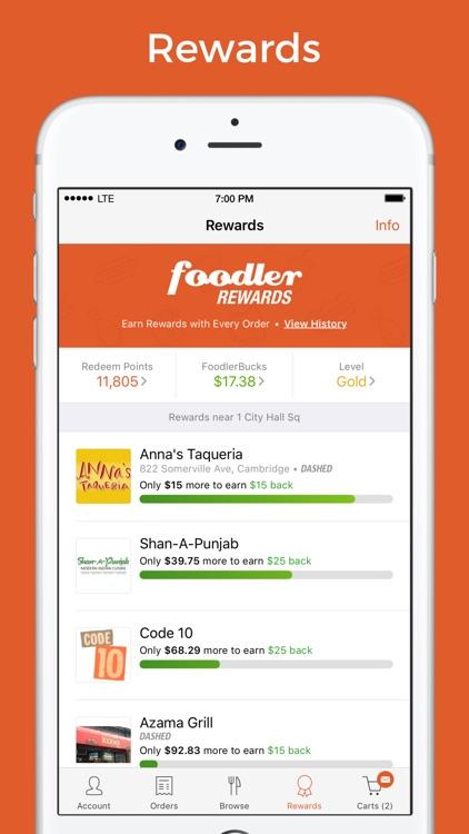Foodler - Food Delivery & Takeout screenshot-3