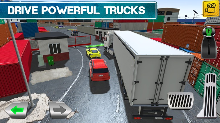 Cargo Crew: Port Truck Driver screenshot-2