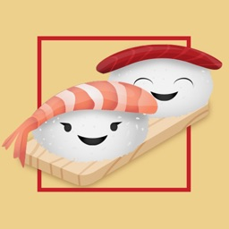 Sushi Wasabi Stickers - Yummy!
