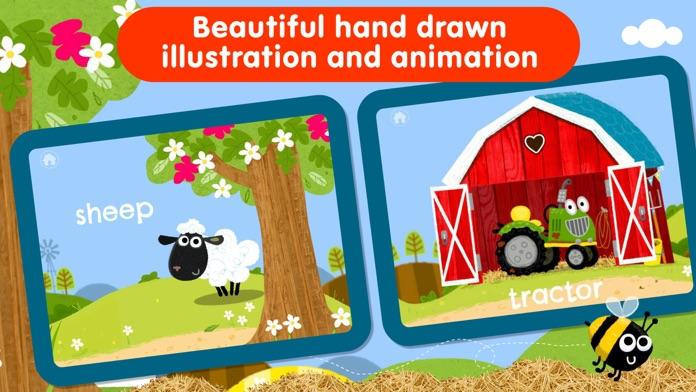 Peek a Boo Farm Animals Sounds Screenshot