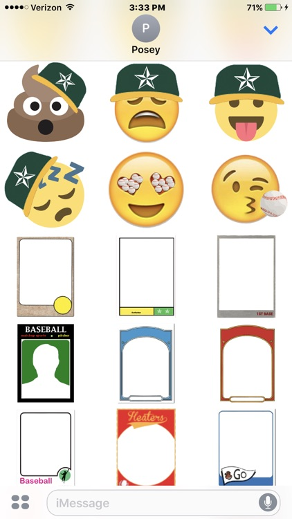 Baseball Sticker Pack Experience