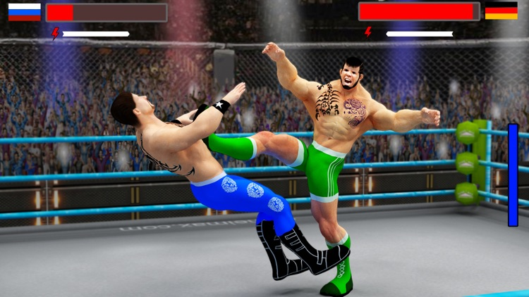 Stars Wrestling Revolution 2017: Real wrestlers screenshot-1
