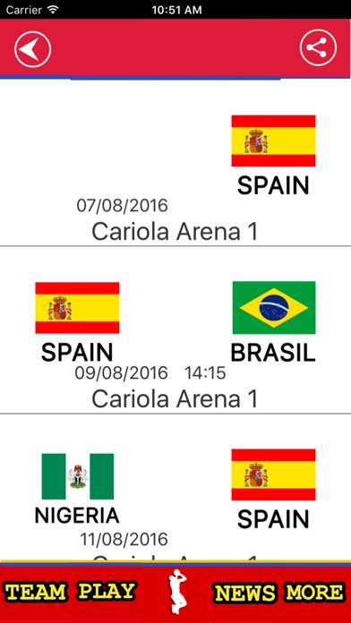 Spanish Basketball Team screenshot 3