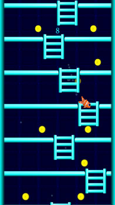 Fish Ladder Fall Down screenshot 1