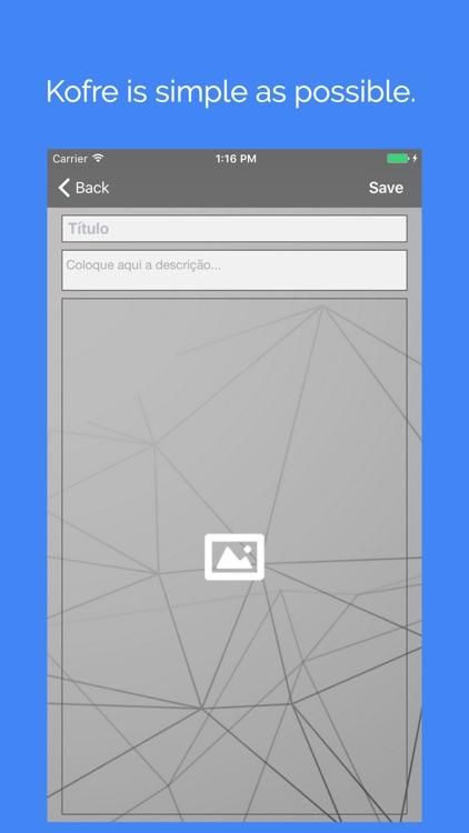 Kofre - Keep your photos safe screenshot-3