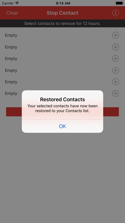 Stop Contact screenshot-4