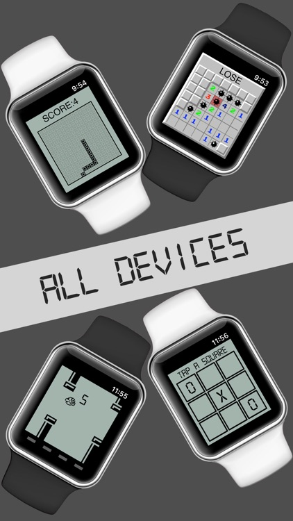 8 Classic Games (Watch & Phone)