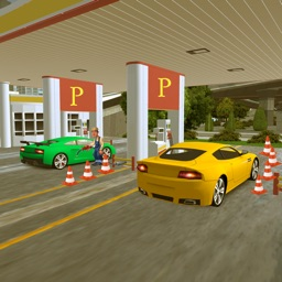 Extreme Sports Car Parking & Gas Station Car Wash