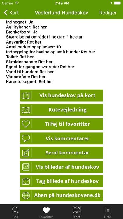 Hundeskove I Danmark Hundeskovene Dk By Seven Media Aps