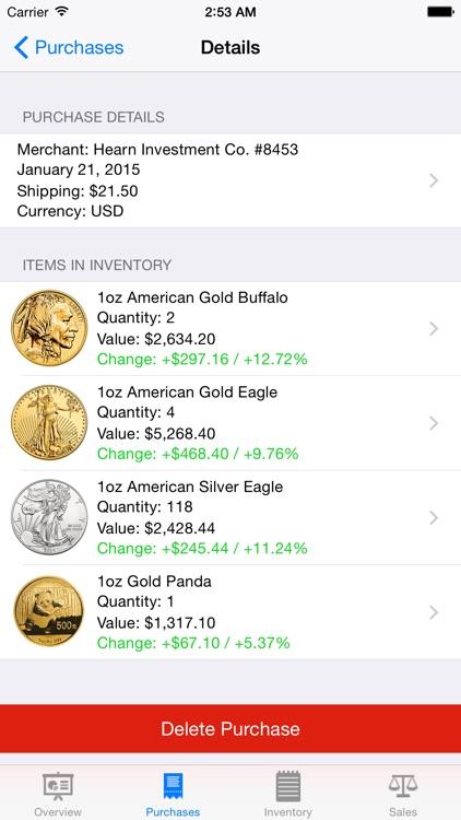 Gold Tracker screenshot-3