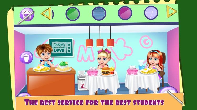 My School Doll House Game.s for Girls screenshot-3