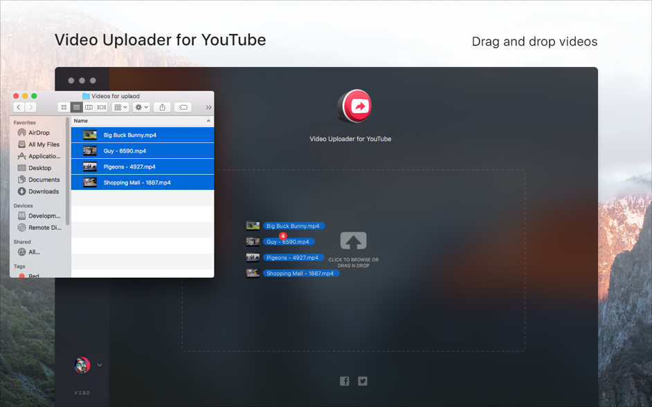 Video Uploader for YouTube 3 1 0 – Directly upload videos to