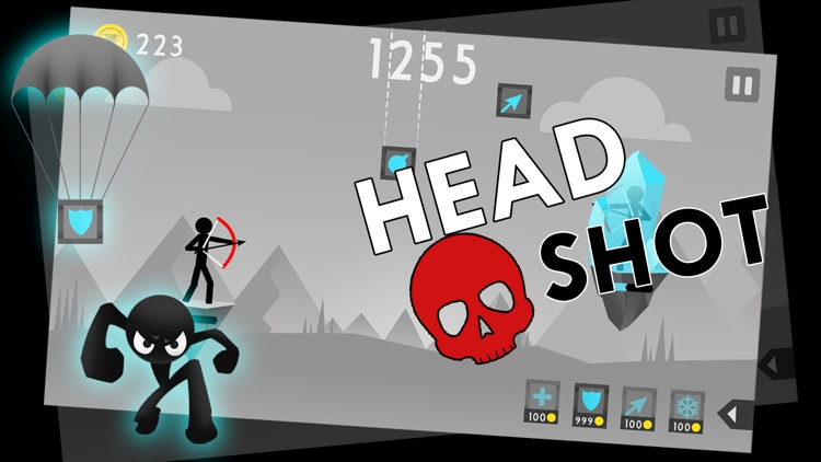 Stickman Archer Fight screenshot-4
