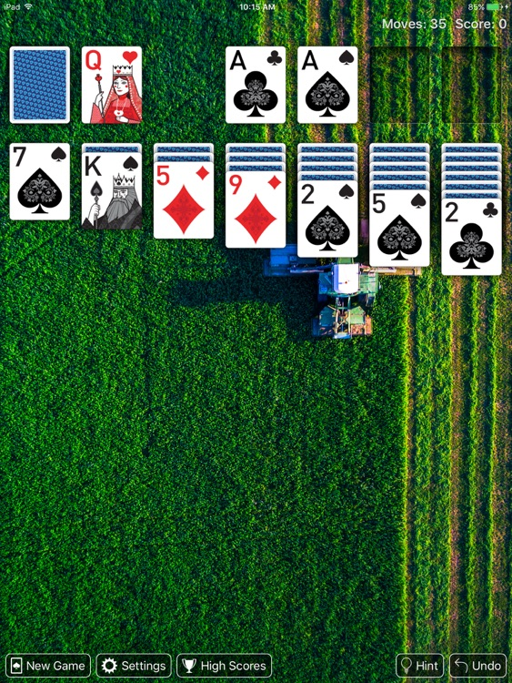 Real Solitaire for iPad screenshot-4