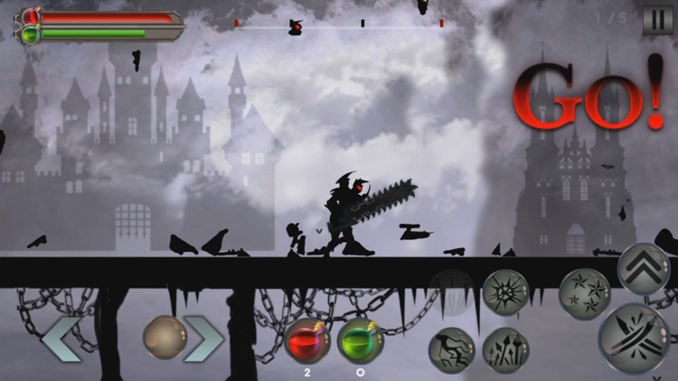 Dr. Darkness - 2D RPG Hack and Slash Battle screenshot-4