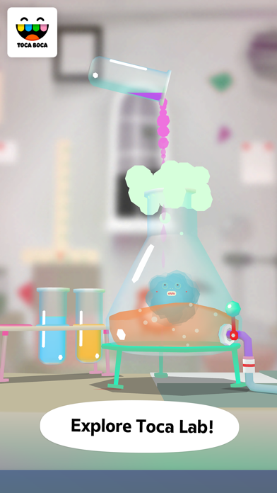 Toca Lab: Elements app image