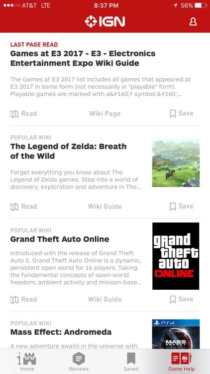 IGN: Video Game News, Reviews, Guides screenshot-3