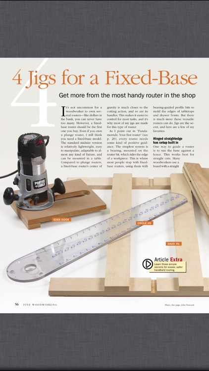 Fine Woodworking Magazine screenshot-3