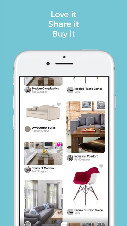 Pair - Bring the showroom to your living room