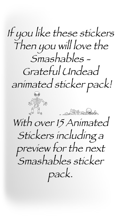 Smashables - Grateful Undead (Stickers Only)