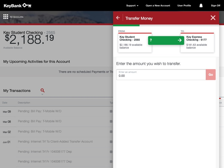 KeyBank App for iPad screenshot-3
