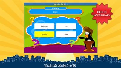 Vocabularyspellingcity review screenshots