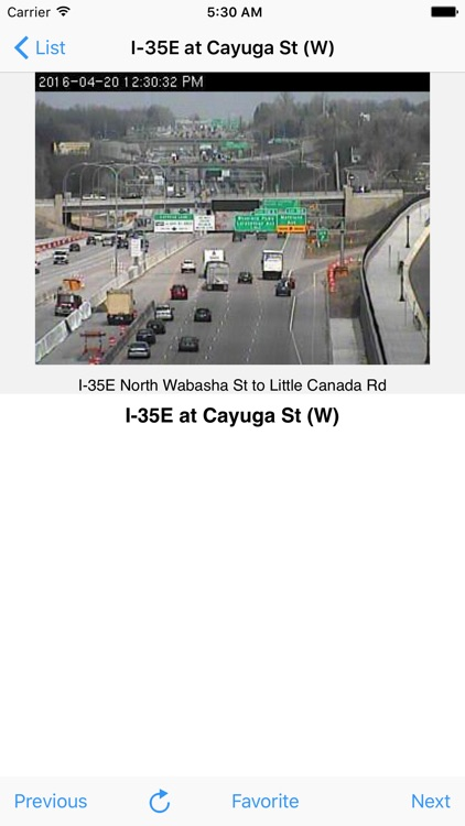 Minneapolis Traffic Cam