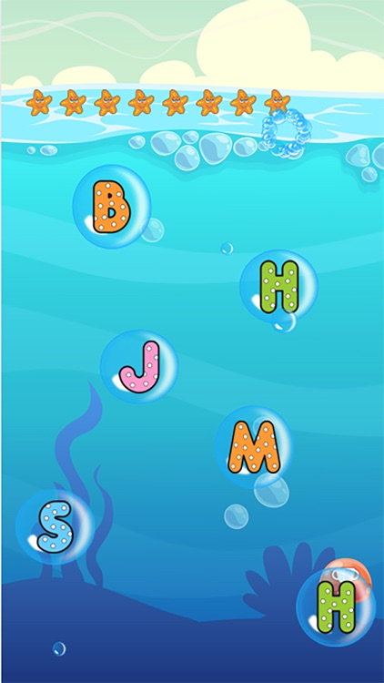 ABC Cartoon Letters Phonics Game