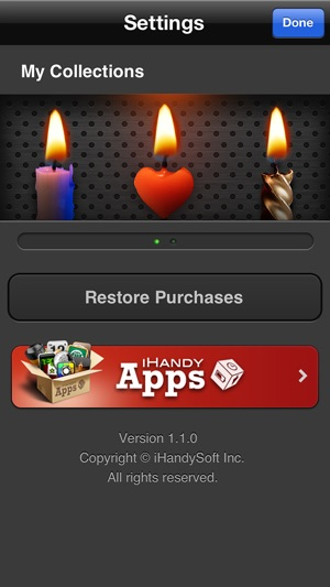 Virtual Candle HD On The App Store