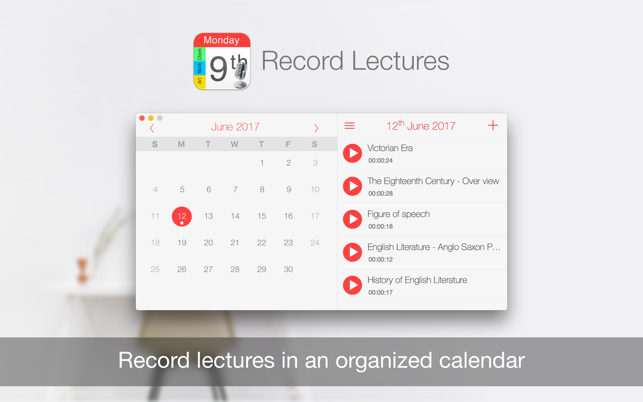‎Record Lectures Screenshot