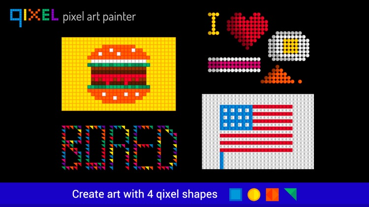 Qixel HD : Pixel Art Painter screenshot-1