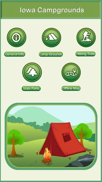 Iowa Camping & Hiking Trails