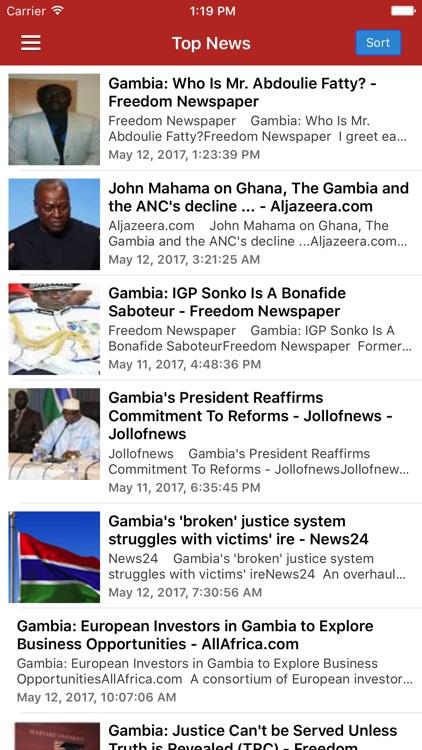 Gambia News Today & Gambia Radio