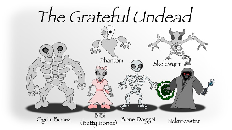 Smashables - Grateful Undead (Stickers Only) screenshot-3