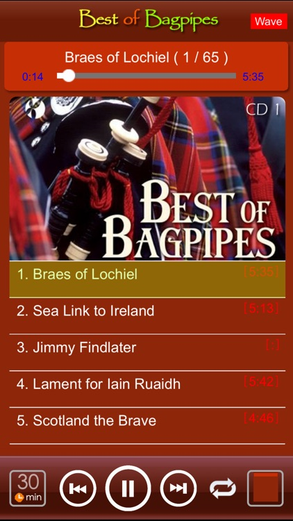 [4 CD] Scottish bagpipes