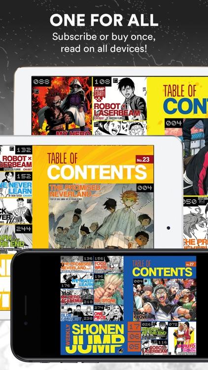 Weekly Shonen Jump - The World's Greatest Manga screenshot-3