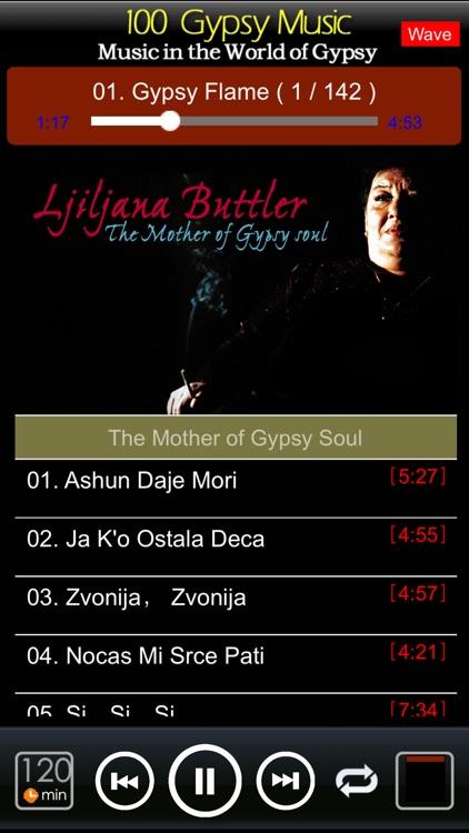 [10 CD]100 classic gypsy music screenshot-4