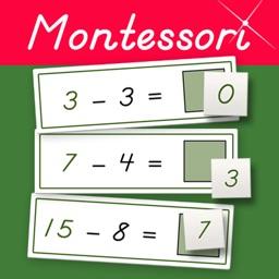 Subtraction Tables - Montessori Math Exercises