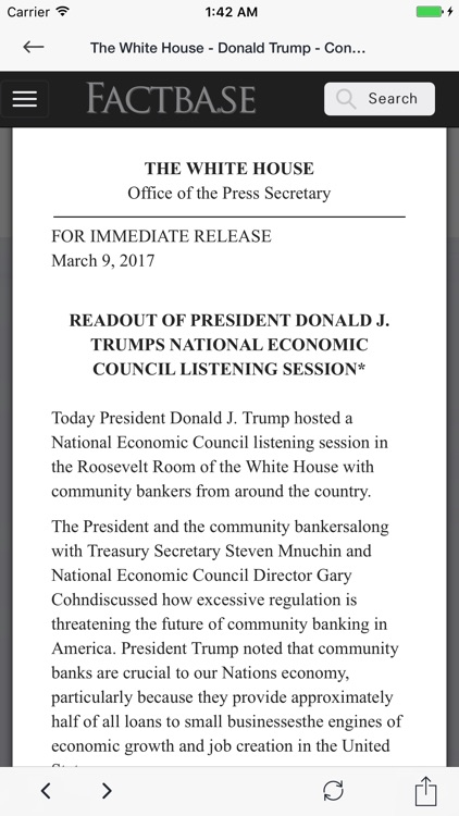 Trump White House Consolidated News Release Feed screenshot-1