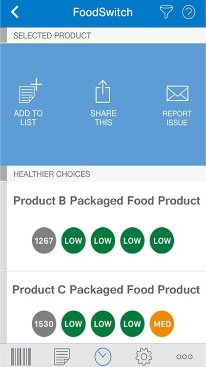 FoodSwitch screenshot-3
